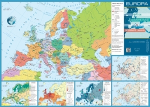 Harta Geografică A Europei